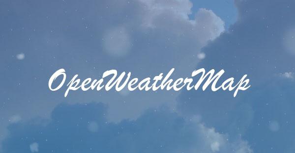 Информер погоды на сайте — api OpenWeatherMap